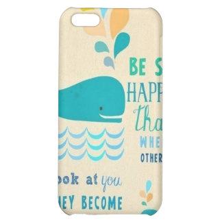 Sea caso feliz del iPhone 4 de la ballena