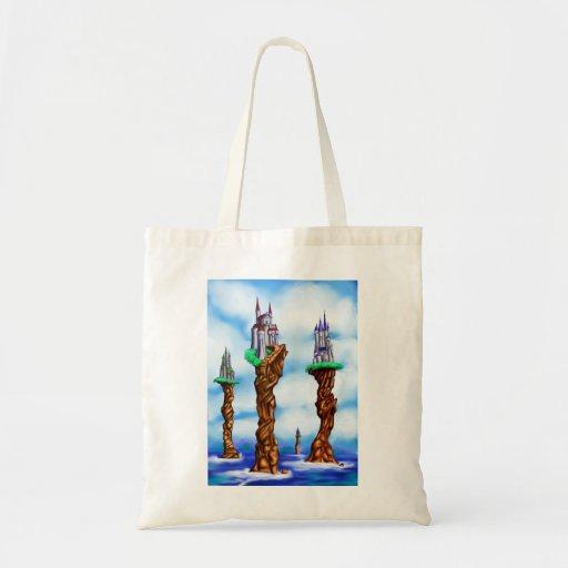 Sea Castles of Loerin Budget Tote Bag