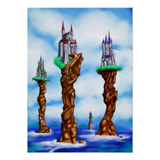 Sea Castles of Loerin Poster