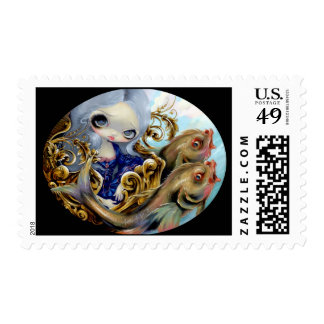 """""""Sea Chariot"""" Stamp"""