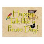 ¡Sea charla como un día del pirata! Imagen del dis Postales