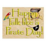 ¡Sea charla como un día del pirata! Imagen del dis Postal