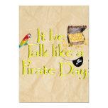 ¡Sea charla como un día del pirata! Comunicados Personales