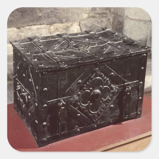 Sea chest, from Nuremberg Square Sticker