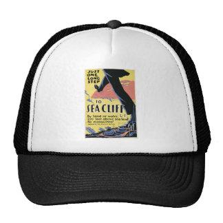 Sea Cliff New York Advertisment Poster Trucker Hat
