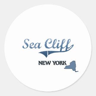 Sea Cliff New York City Classic Sticker