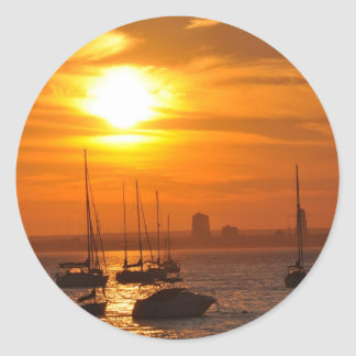 Sea Cliff NY Classic Round Sticker