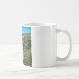 Sea Cliffs at Jalama Beach Coffee Mug