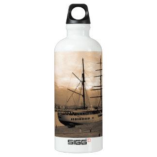 Sea Cloud II Aluminum Water Bottle