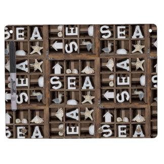Sea Collection Dry-Erase Whiteboard