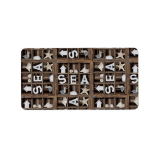 Sea Collection Label