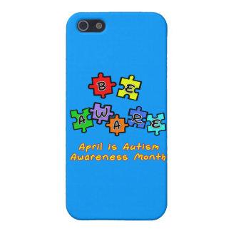 SEA CONSCIENTE - abril es mes de la conciencia del iPhone 5 Carcasas