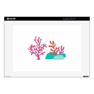 """Sea Coral 15"""" Laptop Skin"""