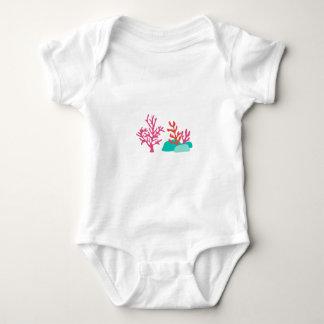 Sea Coral Baby Bodysuit