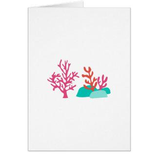 Sea Coral Card