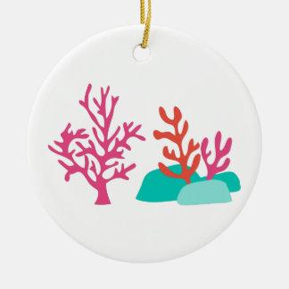 Sea Coral Ceramic Ornament