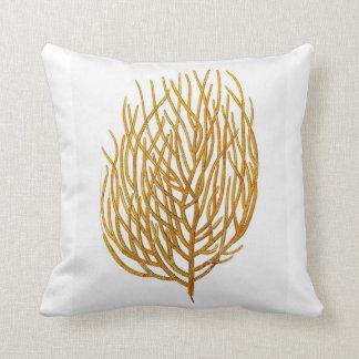 Sea Coral Coastal Living Decor Pillow no.8