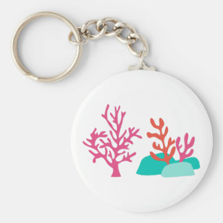 Sea Coral Keychain