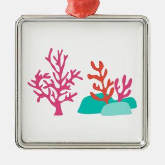 Sea Coral Metal Ornament