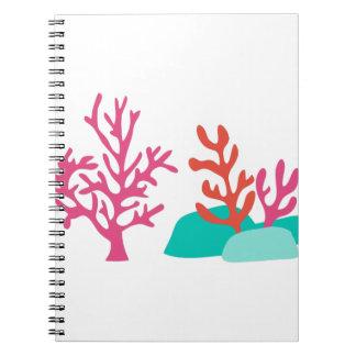 Sea Coral Notebook