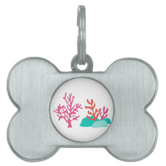 Sea Coral Pet Tag