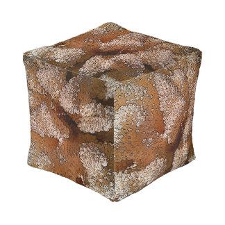 Coral Poufs Pillows Ottomans