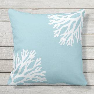 Sea Coral Throw Pillows : Beach Theme Pillows - Decorative & Throw Pillows Zazzle