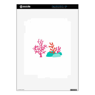 Sea Coral Skins For The iPad 2