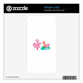 Sea Coral Skins For The iPhone 4
