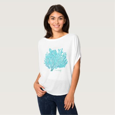 Beach Themed Sea coral tee shirt