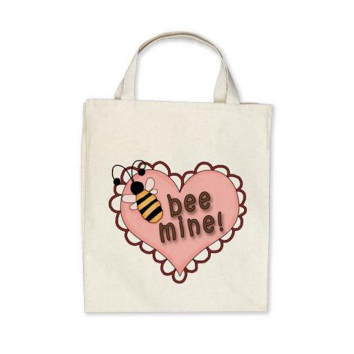 Sea corazón de la mina bolsa