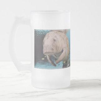 Sea Cow Swimming Coffee Mugs