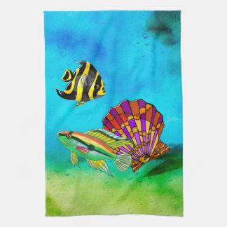 Sea Creations Mixed Media Kitchen Towels