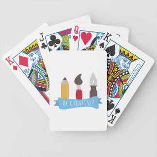 Sea creativo baraja cartas de poker