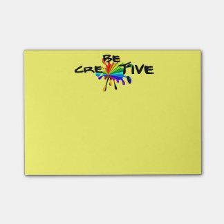Sea creativo post-it notas