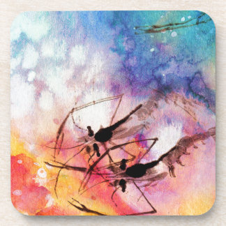SEA CREATURE BEVERAGE COASTER