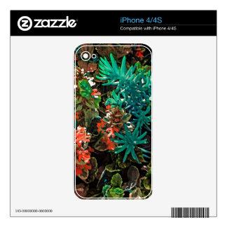 Sea Creature iPhone 4 Skins