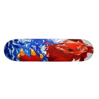 Sea Creature Skateboard Deck