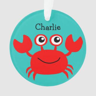 Sea Creatures custom monogram ornament