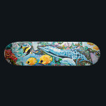 "Sea Creatures Oceanic Skateboard<br><div class=""desc"">Under the Sea Creatures Skateboard</div>"
