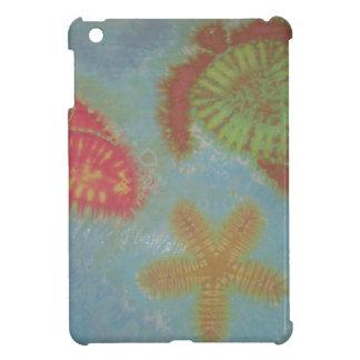 Sea Creatures Tie Dye iPad Mini Case