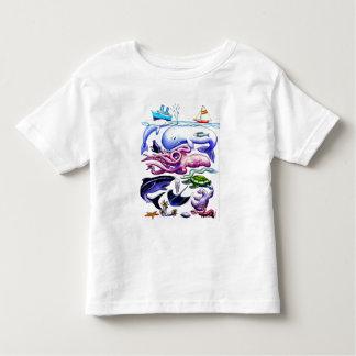 Sea Creatures Toddler T-shirt