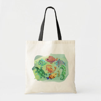 Sea Creatures Tote Budget Tote Bag