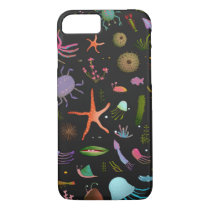 Sea Critters Pattern iPhone 8/7 Case