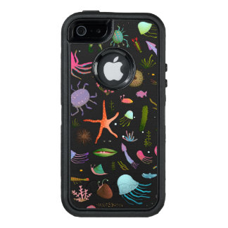 Sea Critters Pattern OtterBox Defender iPhone Case