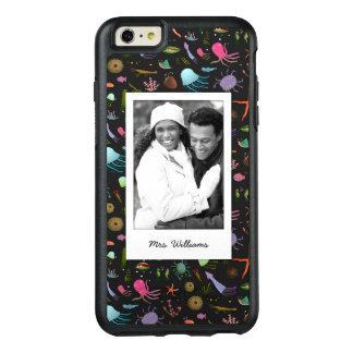 Sea Critters Pattern | Your Photo & Name OtterBox iPhone 6/6s Plus Case