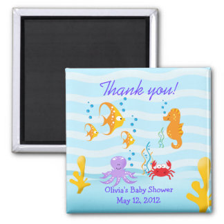 SEA CRITTERS Under the Sea Favor Magnet