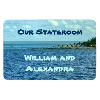Sea Cruise Custom Magnet