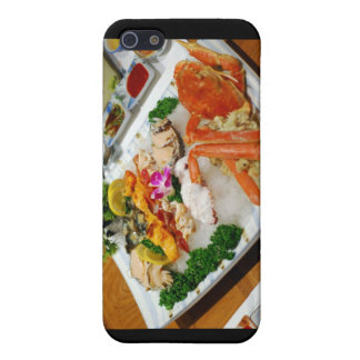 Sea Cucumber, King Crab Etc Sushi Gifts & Cards Cover For iPhone SE/5/5s