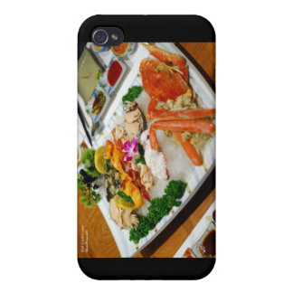 Sea Cucumber, King Crab Etc Sushi Gifts & Cards iPhone 4/4S Case